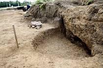 Hrob v Mikulovicích