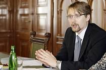 Ministr Pavel Dobeš v Pardubicích
