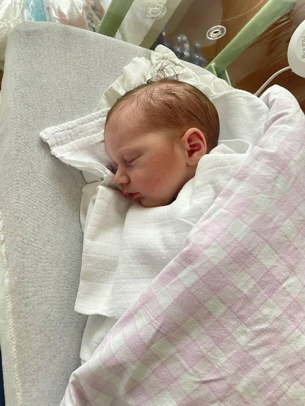 Stella Žitková se narodila 6. 7. 2021 v 13:43 v Chrudimi. Vážila 3380 g a měřila 51 cm. S rodiči  Silvií Nejedlou a Petrem Žitkem bude bydlet v  Chrudimi. Foto: rodina