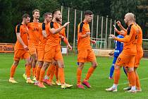 Fotbalisté Živanic v České fotbalové lize - ilustrační foto