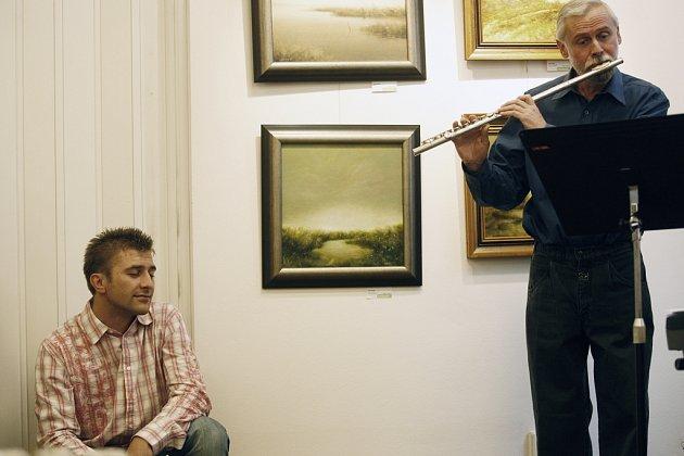 Josef Pejchal v galerii Gong