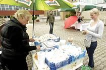 Farmářské trhy v Ideonu