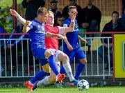 Fotbalová Fortuna národní liga: FK Pardubice -  FC Sellier & Bellot Vlašim.