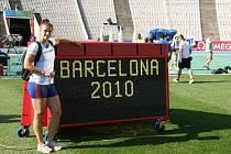 Jana Kárníková na ME v Barceloně