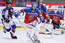 MS v in-line hokeji v Pardubicích 2014. Česká republika proti Slovensku
