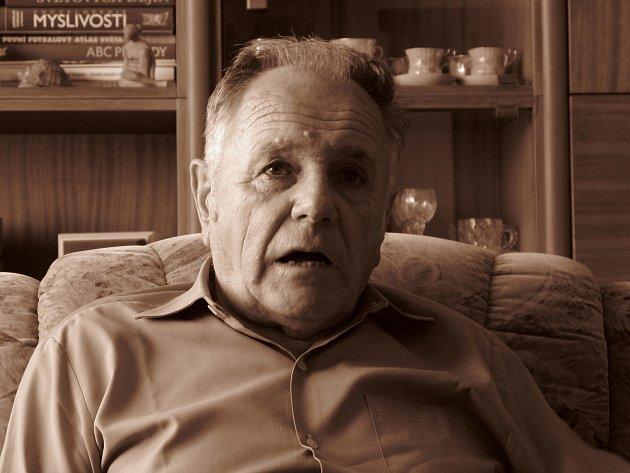 Miroslav Matějka vroce 2008, Zdroj: Paměť národa