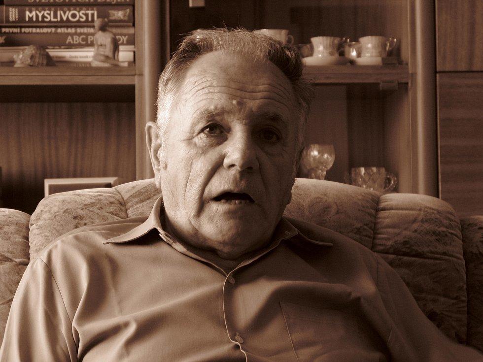 Miroslav Matějka v roce 2008, Zdroj: Paměť národa