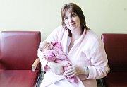 NELA KRIŠTOFÍKOVÁ se narodila 22. ledna v 9 hodin a 24 minut. Měřila 50 centimetrů a vážila 3930 gramů. Maminku Janu podpořil u porodu tatínek Milan. Rodina bydlí v Pardubicích.
