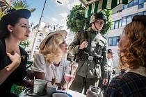 Připomínka 75 let od heydrichiády. Pardubice si tuto složitou dobu připomněly dobově.
