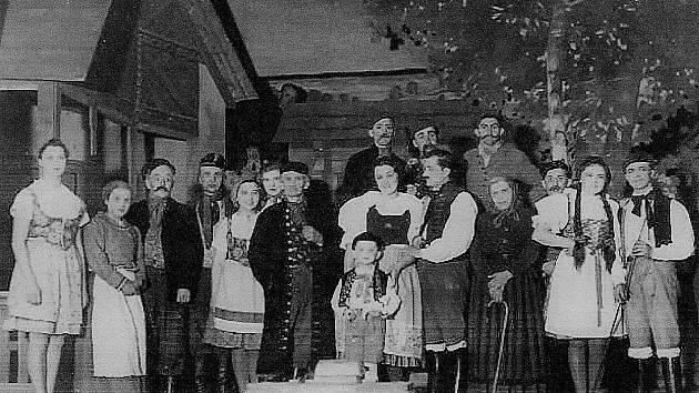 Historické snímky z Rovně.