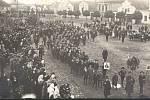 Pohřeb Rakouska - Uherska se pořádal i v Dašicích.