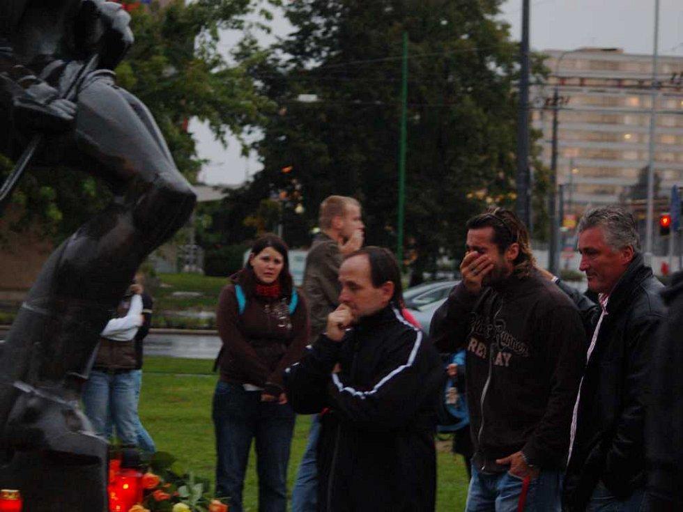 Libor Hovorka, Miroslav Hlinka a Miloš Říha