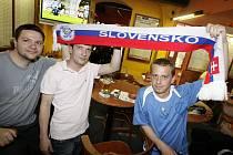 Slovenští fanoušci
