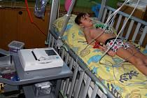Nový EKG přístroj pro dětské pacienty