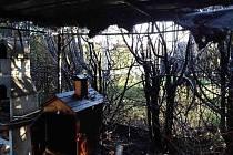 Páteční grilování skončilo požárem