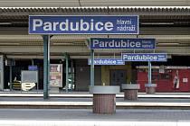 Stávka na pardubickém nádraží