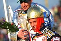 Vítěz 59. ročníku Zlaté přilby města Pardubice Andreas Jonsson