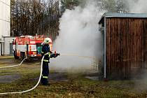 V Bohdanči cvičili vyšetřovatelé hasičů