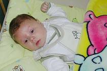 Jindřich Sádovský, první miminko narozené v Pardubickém kraji v roce 2010
