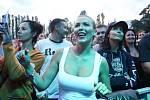 Hudební festival Létofest na pardubickém dostihovém závodišti.