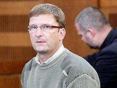 Petr Kopecký před soudem