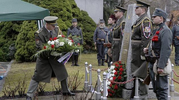 Pietní akt jako památka na zemřelé turecké vojáky v první světové válce