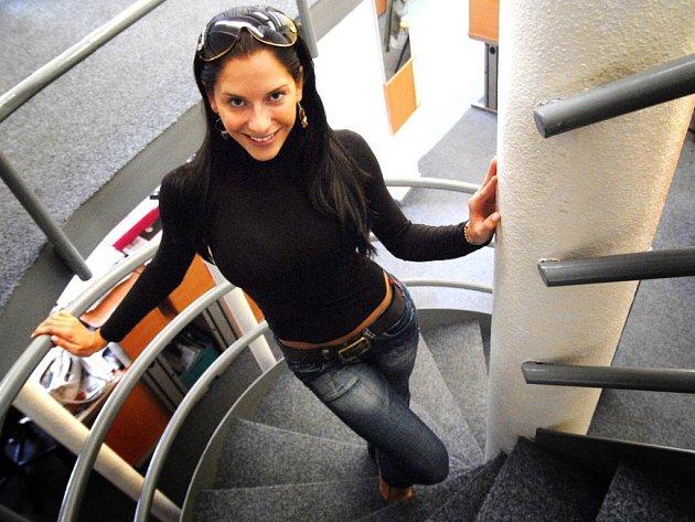 Miss aerobik ČR Monika Horáková z Pardubic
