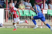 Přípravné fotbalové utkání FK Pardubice - FC Sellier & Bellot Vlašim (ilustrační foto)