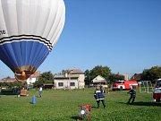 Dětský den s horkovzdušným balonem v Dolní Rovni