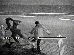 Řádění vandalů v Přelouči sledovaly kamery
