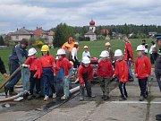 Požářní útok v Lipolticích - mladší žáci