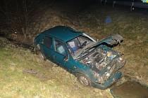 Nehoda u dražkovického nadjezdu