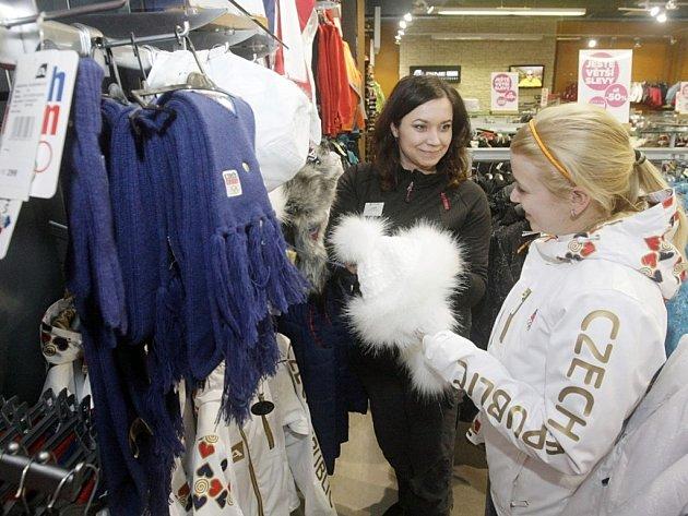 Olympijskou kolekci oblečení můžete sehnat i v Pardubicích.