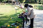 Památka zesnulých či lidově Dušičky na pardubickém Centrálním hřbitově.