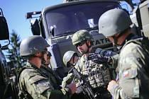Pardubičtí vojáci se účastnili rozsáhlého cvičení. Zajišťovali logistiku pro 4. brigádní úkolového uskupení.