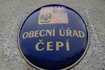 Obecní úřad Čepí.