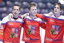 Hokejbalové mistrovství světa v Pardubicích. Češi mají bronz.