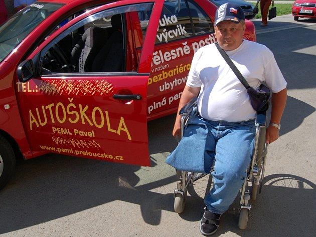 Autoškola pro handicapované v Přeloučí