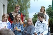 Monika Absolonová a Josef Pejchal jako Eliška Pomořanská a Karel IV.