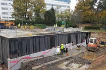 Modernizace Památníku Zámeček je za polovinou.
