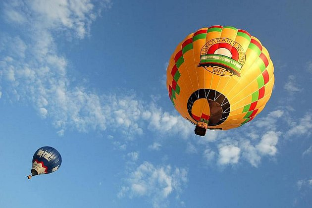 Nebe plné balonů bylo k vidění nad Hradcem Králové poslední červencovou sobotu i první srpnový den.