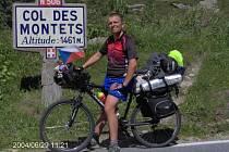 Jan Kovář se vydal na kole na vzdálený Gibraltar