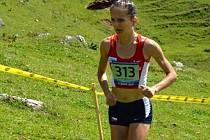 Lucie Maršánová běžela na MS v italských Alpách naprosto famózně.