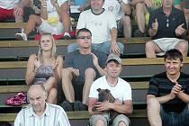 Fandové přišli podpořit přeloučské fotbalisty