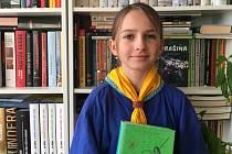 Světluška Zuzka z královéhradecké Jedničky se už teší na schůzky v klubovně.