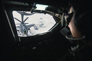 Létající tanker v akci