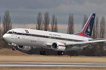 Letadlo thajského prince