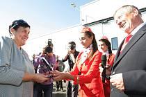 Modernizace civilní části pardubického letiště je oficiálně u konce.