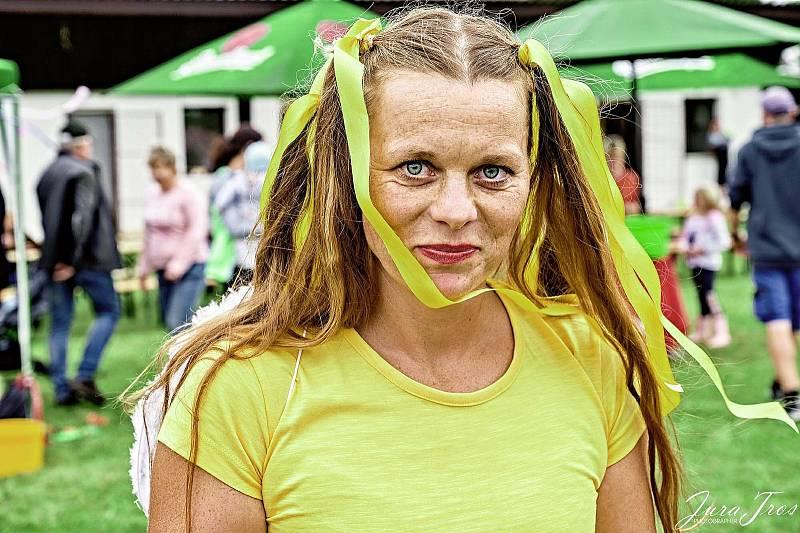 Nina Černíková inspiruje ostatní k aktivitě.