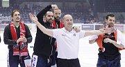 Baráž o udržení v hokejové extralize Dynamo Pardubice - Dukla Jihlava (4:2).